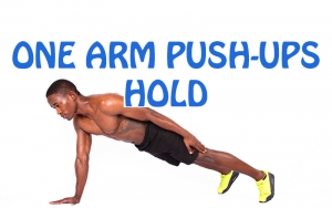 How to do One Arm Push-Ups Hold