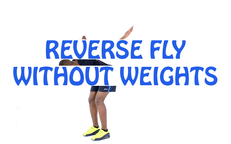 How to do Reverse fly without weights