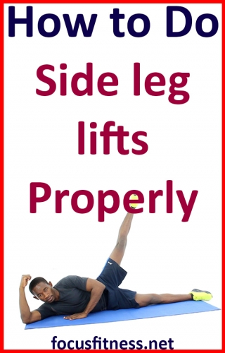If you want to activate your oblique and outer thigh muscles, this article will show you how to perform the lying side leg lifts properly #side #leg #lifts #focusfitness