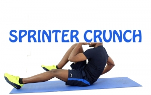 How to Do Sprinter Crunch