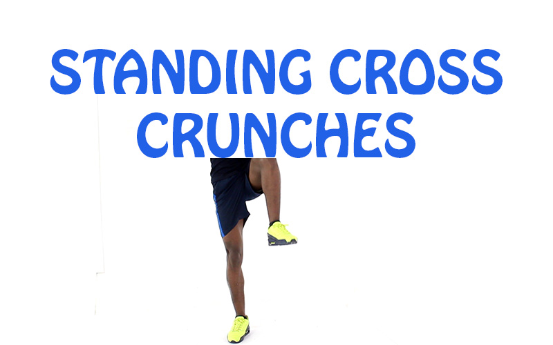 How to Do Standing Cross Crunches