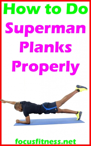 How to Do Superman Planks