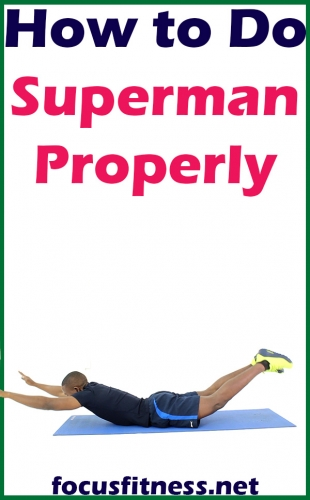 How to Do Superman Back