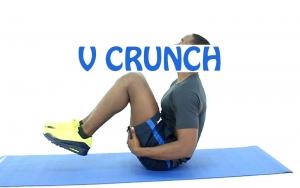 How to do V Crunch