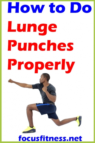 In this article, you will discover how to do lunge punches properly to get a full body workout without any equipment #lunge #punches #exercise #focusfitness