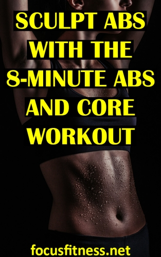 In this article, you will discover the amazing 10-minute abs and core workout to sculpt your abs and build killer core strength. #abs #core #workout