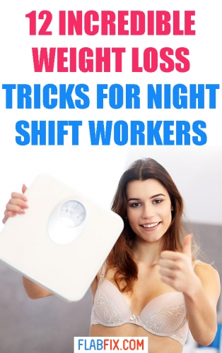 Read this article to discover the incredible weight loss tricks for night shift workers #night #shift #workers #weightloss #flabfix