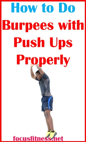 In this article, you will discover how to do burpees with push-ups for a full body workout #pushups #burpees #focusfitness