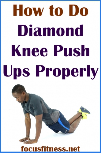 In this article, you will discover how to do diamond knee push ups for upper body strength #diamond #knee #pushups #focusfitness