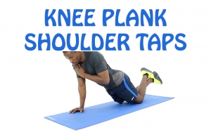 How to Do Knee Plank Shoulder Tap