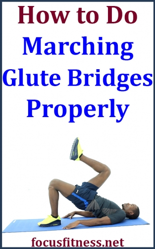 If you want to build and strengthen your butt muscles without weights, this article will show you how to performing marching glute bridges #marching #glute #bridges #focusfitness