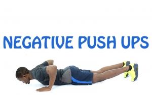 How to Do Negative Push Ups