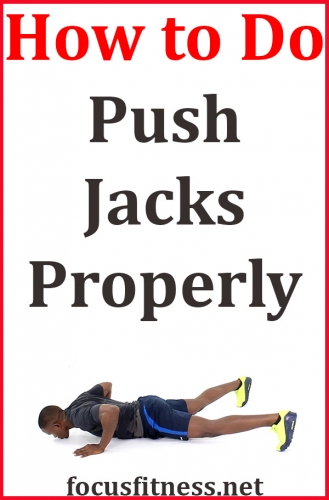 In this article, you will discover how to do push up jacks exercise properly to build and strengthen your upper body #pushup #jacks #exercise #focusfitness