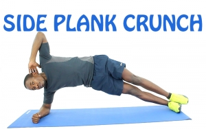 How to Do Side plank crunch