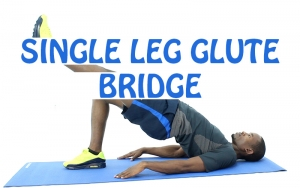 How to Do Single Leg Glute Bridge