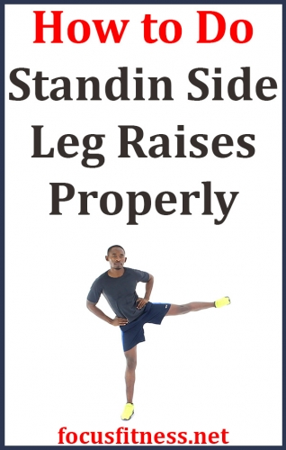 In this article, you will discover how to perform standing side leg raises exercise to build your glute and hip flexor muscles #standing #side #leg #raises #focusfitness