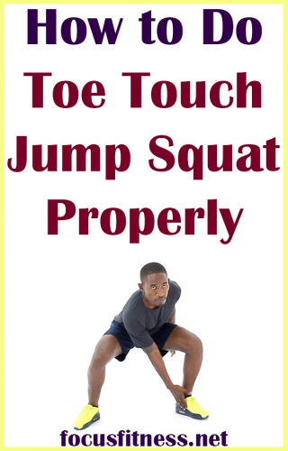 In this article, you will discover how to do toe touch jump squat exercise properly for a full-body workout and cardiovascular endurance #toe #touch #jump #squat #exercise #focusfitness