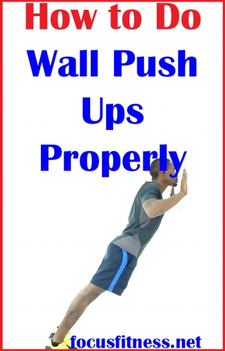 In this article, you will discover how to perform wall push-ups exercise properly for a strong upper body #wall #pushups #focusfitness