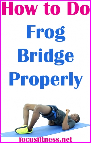 In this article, you will discover how to perform the frog bridge exercise properly for bigger and stronger glute muscles #frog #bridge #focusfitness