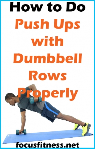 In this article, you will discover how to perform push-ups with dumbbell rows to build extraordinary upper body strength #pushups #dumbbell #rows #focusfitness