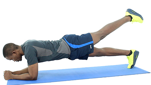 How to do Single Leg Plank