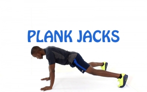 How to do plank jacks