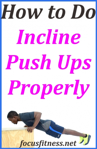 In this article, you will discover how to perform incline push-ups properly in order to build and strengthen your upper body #incline #pushups #focusfitness