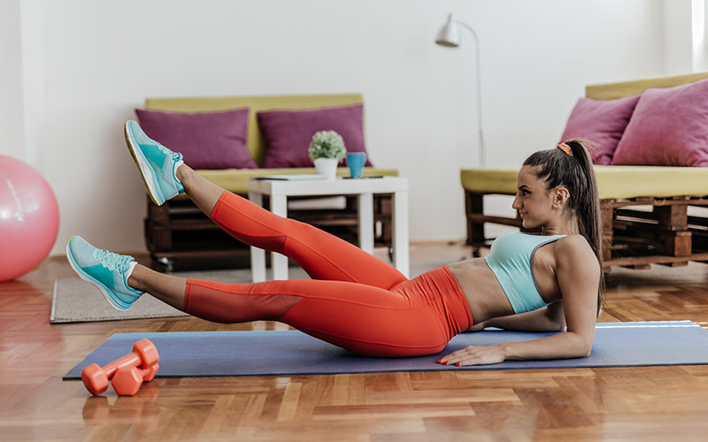 The Best Home Abs Workout for Beginners