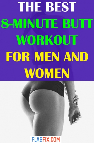 Use this workout for men and women to tone your butt muscles #butt #workout #flabfix