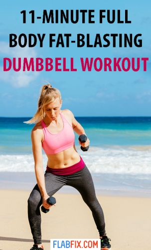 This full body fat-blasting dumbbell workout to transform your body #full #body #dumbbell #workout #flabfix