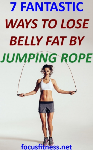 If you want a flat and firm stomach, this article will show you proven ways to lose belly fat by jumping rope #jumping #rope #belly #fat #focusfitness