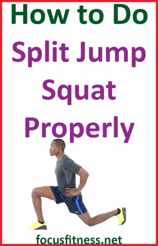 In this article, you will discover how to perform split jump squats, which are one of the best high-intensity exercises you'll ever do. #split #jump #squat #exercise #focusfitness