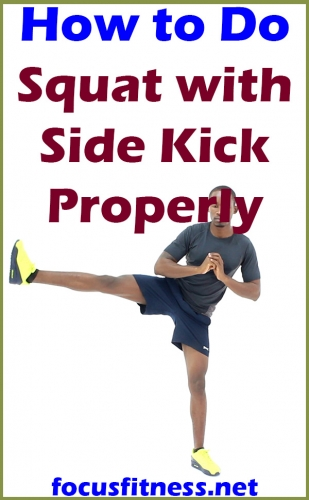 How to do Squat with Side Kick