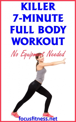 If you want to build lean muscle and banish stubborn fat without exercising for hours, do this 7-minute to activate every muscle in your body #fullbody #workout #focusfitness