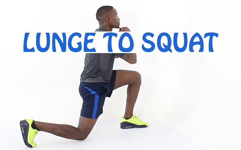 How to do Lunge to Squat