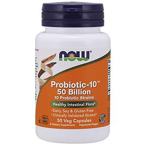 NOW probiotic supplements