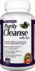 Purity cleanse probiotic