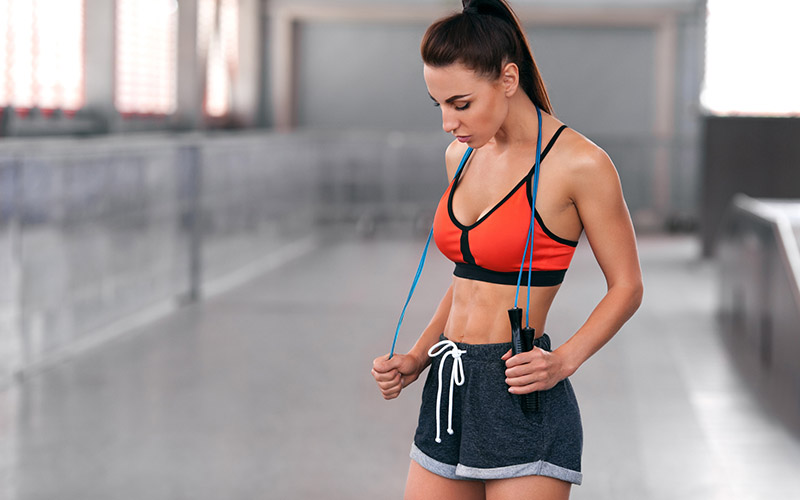 Secrets to on how to lose belly fat by jumping rope