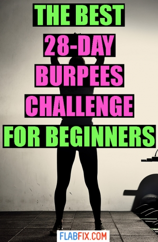 In this article, you'll discover the best 28-day burpees challenge for beginners #burpees #challenge #beginners #flabfix