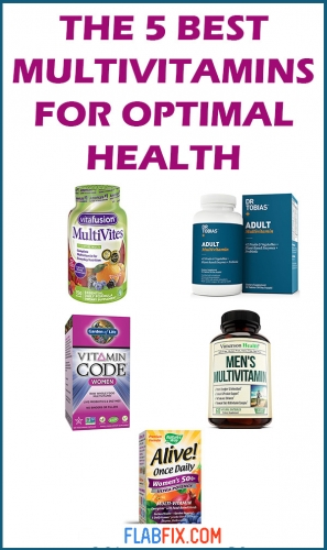 This article will show you the 5 best multivitamins for optimal health #multivitamins #health #flabfix