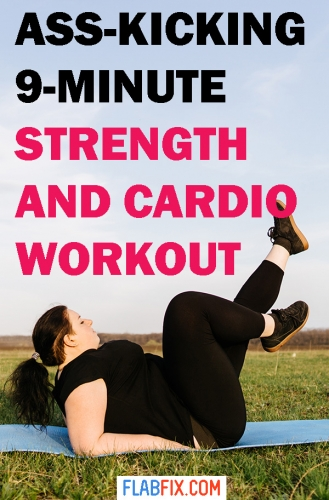 Use this strength and cardio workout to transform your body without any equipment #strength #cardio #workout #flabfix