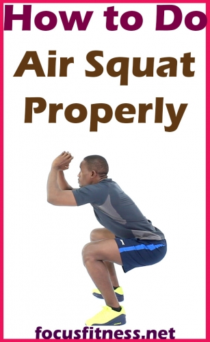 In this article, you will discover how to perform air squat exercise properly, which activates all your lower body muscles and strengthens the core #air #squat #exercise #focusfitness