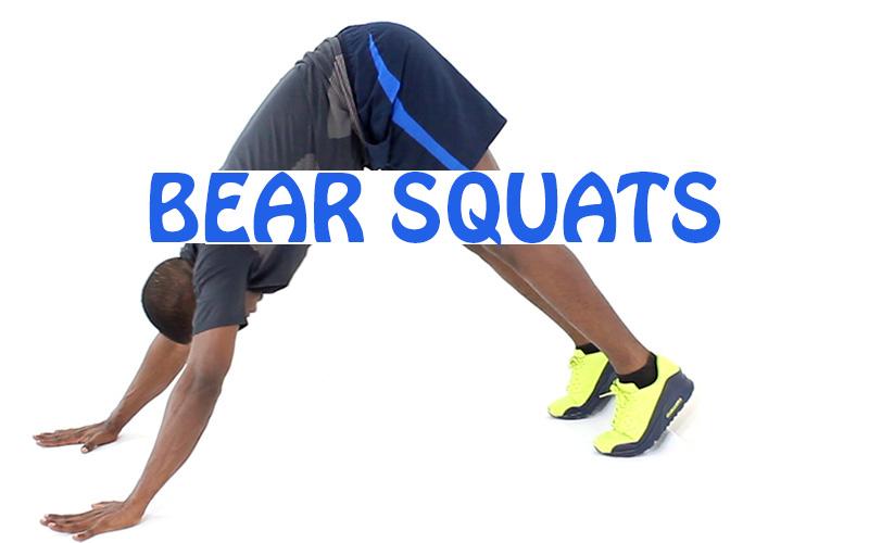 How to do Bear Squat