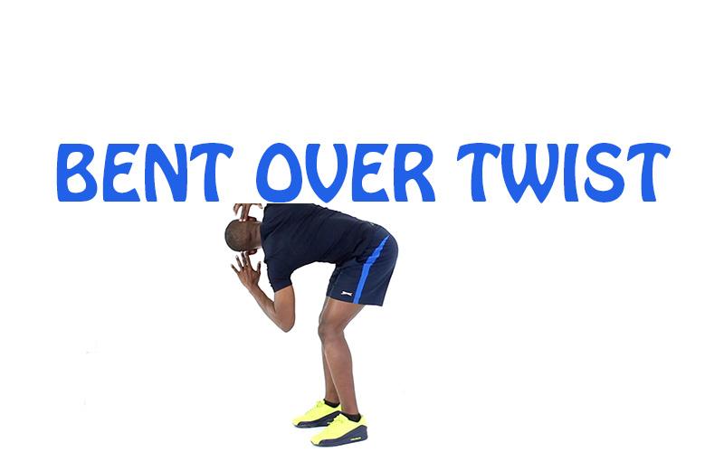 How to do Bent over twist