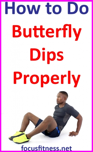In this article, you will learn how to perform butterfly dips, which is one of the best home exercises for toning your arm muscles #butterfly #dips #exercise #focusfitness