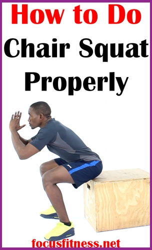 In this article, I will show you how to perform the chair squat exercise to strengthen and build your lower body muscles #chair #squat #exercise #focusfitness