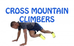 How to do Cross Mountain Climbers