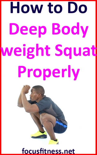 In this article, I will show you how to do deep bodyweight squat to build your leg and butt muscles without weight any equipment #deep #bodyweight #squat #focusfitness