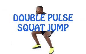 How to do Double Pulse Squat Jump