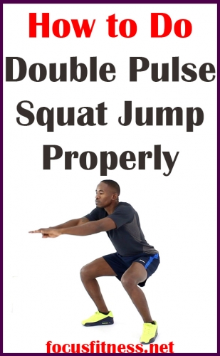 In this article, you will discover how to perform the double pulse jump squat exercise, which will massively boost your cardiovascular endurance. #jump #squat #focusfitness